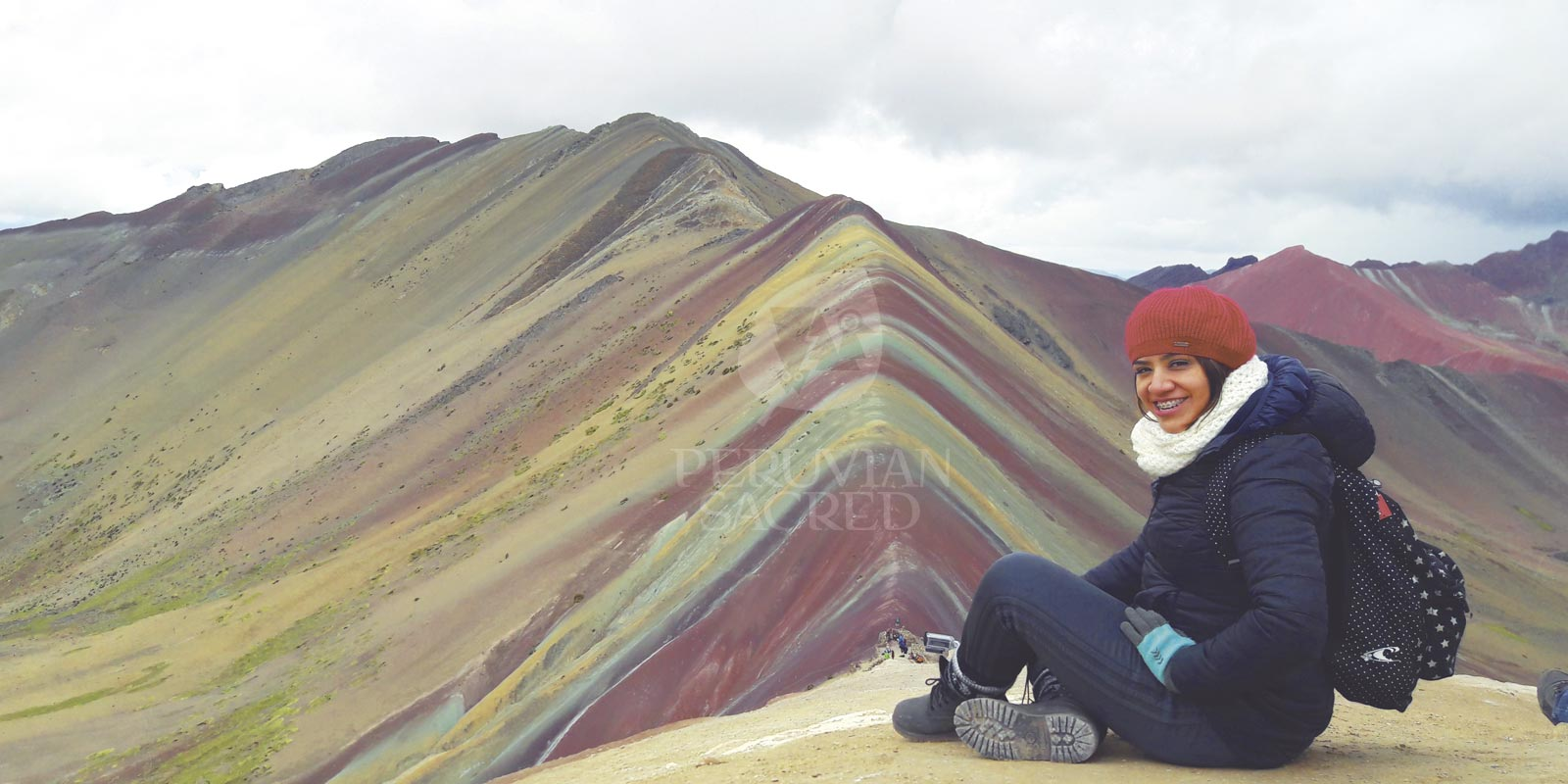 Way Vinicunca Or 7 Colors Mountain 1d Rainbow Mountain