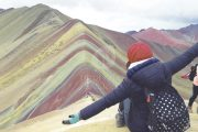 Climbing Rainbow Mountain